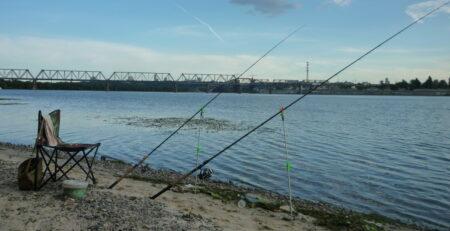 Рыбалка фидером на реке