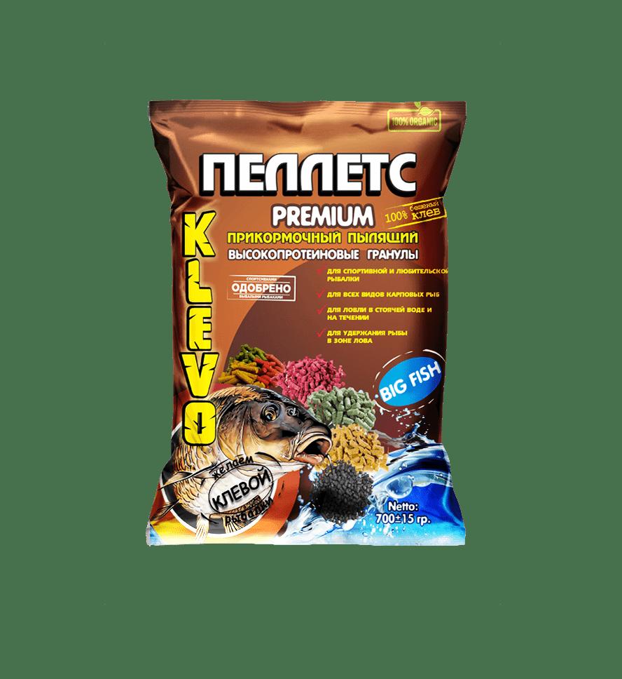 pellets-premium Пеллетс зимний быстрорастворимый цветной