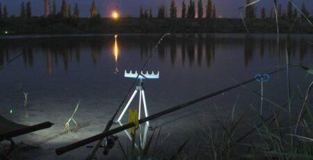 Ночная рыбалка на фидер